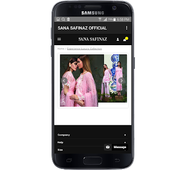 42e5438b73 SANA SAFINAZ OFFICIAL - by Online Store Offers - Shopping Category - 4  Reviews - AppGrooves: Discover Best iPhone & Android Apps & Games