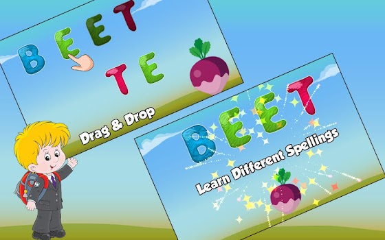 Kids Spelling Practice Game