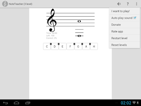 NoteTeacher with Metronome and Tuner