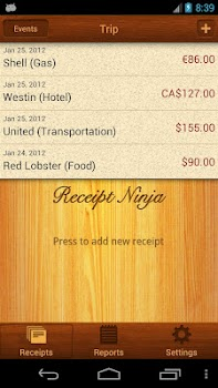 Receipt Ninja - Split Expenses