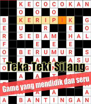 Indonesian Crossword Puzzle Game Free By Bluemind Word Games