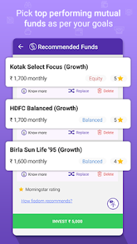 fisdom - Mutual Fund Investments App