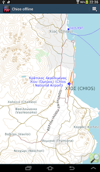 Chios offline map by AYE Ltd Travel Local Category 1
