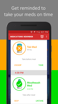 Medica: Pill Reminder, Tracker and Refill Reminder