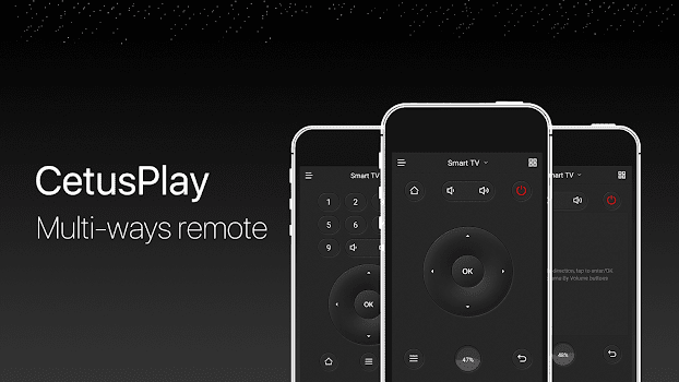 Fire TV Universal Remote Android TV KODI CetusPlay