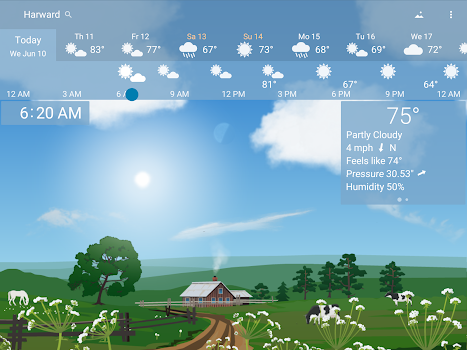 Awesome Weather YoWindow - Live Wallpaper, Widgets
