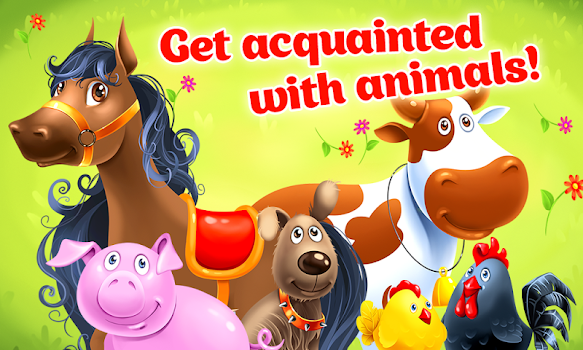 Animal Farm for Kids - Learn Animals for Toddlers