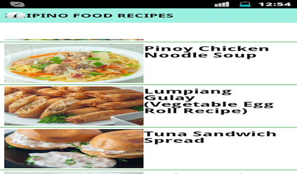 Filipino food recipes by zghari apps food drink category 135 filipino food recipes forumfinder Gallery