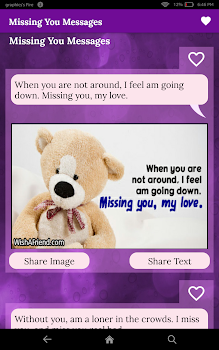 Missing You Status Messages I Miss You Poems By Touchzing