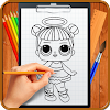 Learn How to Draw Cute Surprise Dolls