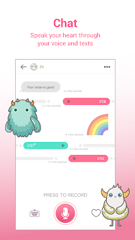 MonChats - Meet friends with voice!