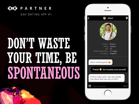 Partner: gay dating app & chat online for hot guys