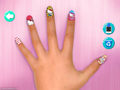 Hello Kitty Nail Salon
