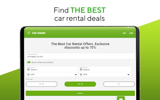 Cars-scanner - car rental