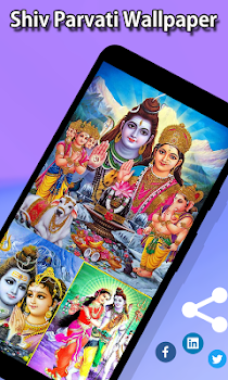 Shiv Parvati Wallpapers Hd By App Makerz Personalization