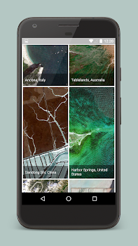Earth Wallpapers -  Satellite imagery from Google