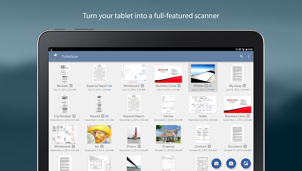 TurboScan: scan documents and receipts in PDF