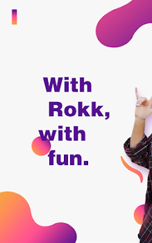 Rokk - Random video chat & Face swap filters