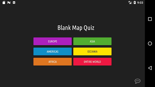 Blank map quiz by very nice apps educational games category think you know where countries are on a world map try yourself blank map quiz gumiabroncs Gallery