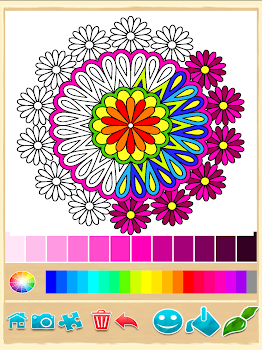 Mandala Coloring Pages by Coloring Games Casual Games Category