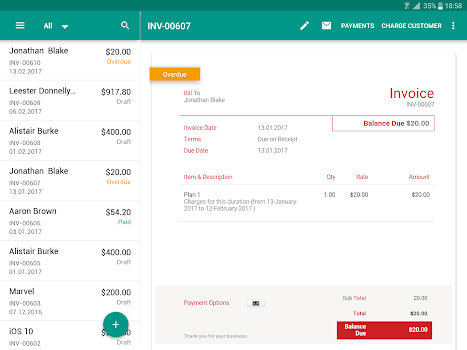 Invoice Time Tracking Zoho By Zoho Corporation Business - Best time tracking and invoicing app