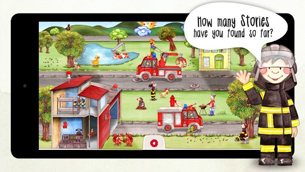 Tiny Firefighters - Seek & Find Activity Book