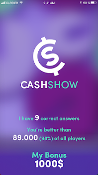 Cash Show - Win Real Cash!