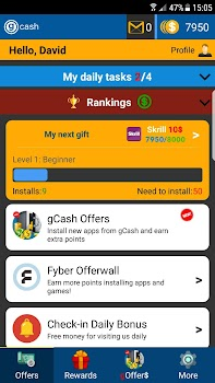 G Cash: Earn Free Paypal Money, Gift Cards & More