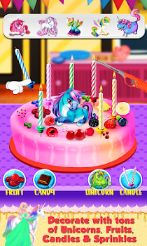 Real Birthday Cake Maker A Sweet Cooking Game