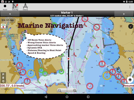 i-Boating:Marine Navigation Maps & Nautical Charts