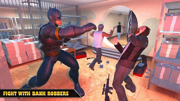 Hero City Bank Robbery Crime City Rescue Mission