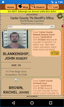 CCSO Neighborhood Cleanup - by Carter County TN Sheriff's