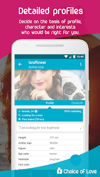Free Dating & Flirt Chat - Choice of Love