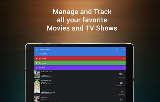 CineTrak: Your Movie and TV Show Diary
