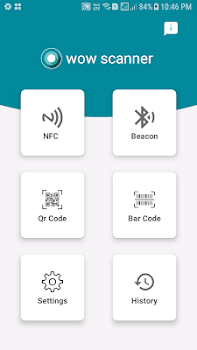 WOW Scanner [ BAR-CODE, QR-CODE, NFC, BLE-BEACON ]