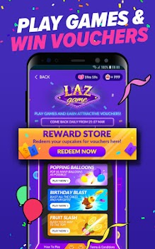 Lazada - Birthday Sale Party 27 Mar