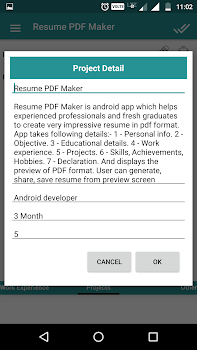 resume pdf maker cv builder by dailymobapps 11 app in resume