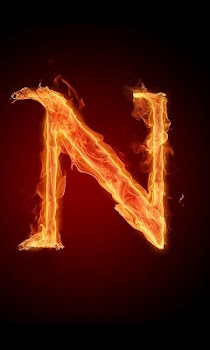 3D Letter Fire Live Wallpaper