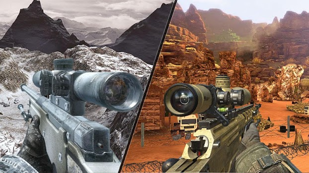 Mountain Sniper Shooting: 3D FPS