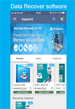 Sayprint Data Recovery Marketplace