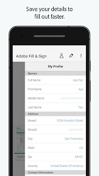 Adobe Fill & Sign: Easy PDF Doc & Form Filler.