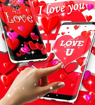 I Love You Live Wallpaper By Hd Wallpaper Themes Personalization