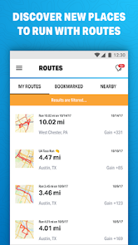 Run with Map My Run