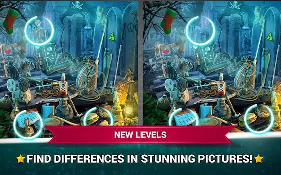 Find the Differences Haunted – Spot It Game