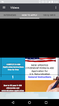 US Citizenship Test - Advanced