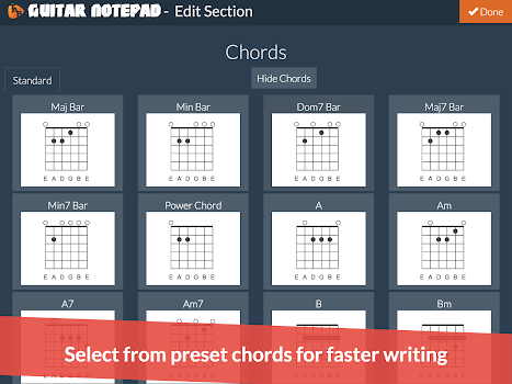 Guitar Notepad - Tab Editor - by Codefad - Music & Audio Category ...