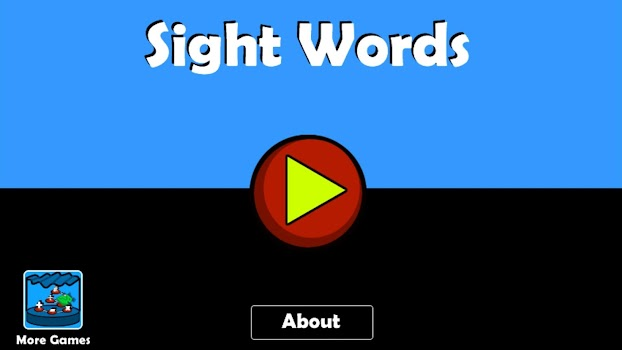 Sight Words - Reading Games