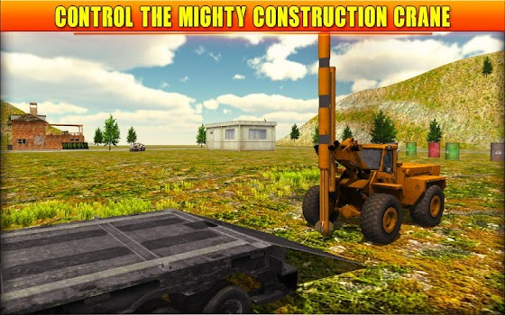 New Construction Simulator Game: Crane Sim 3D