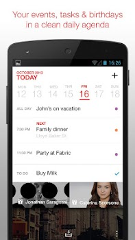 Cal: Google Calendar, Calendar Widget & Tasks