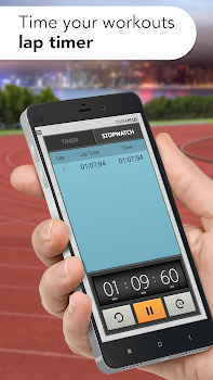 Timer Plus Free with Stopwatch